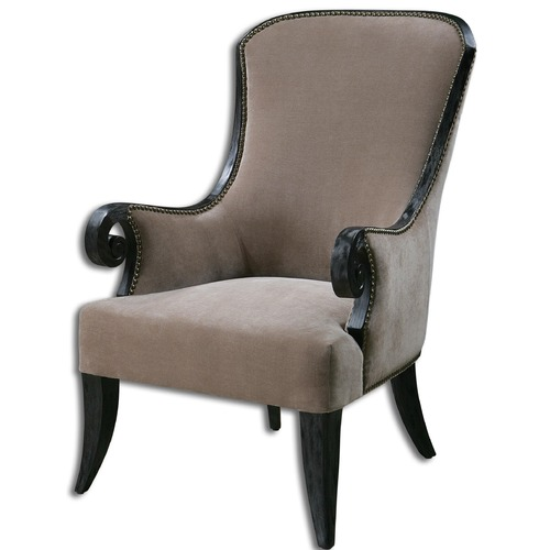 Uttermost Lighting Uttermost Kandy Taupe Armchair 23113