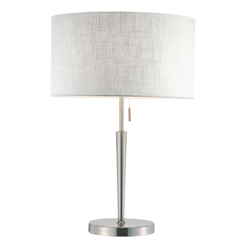 Adesso Home Lighting Adesso Home Lighting Hayworth Satin Steel Table Lamp 3456-22