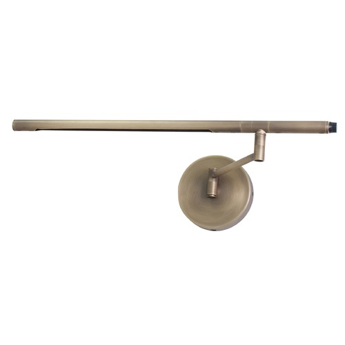 House of Troy Lighting House Of Troy Slim-Line Antique Brass LED Swing Arm Lamp SLED525-AB