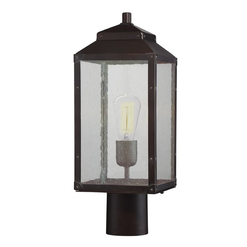 Savoy House Savoy House Lighting Brennan English Bronze with Gold Post Light 5-343-213