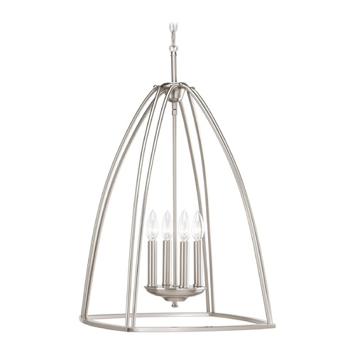 Progress Lighting Progress Lighting Tally Brushed Nickel Pendant Light P3787-09