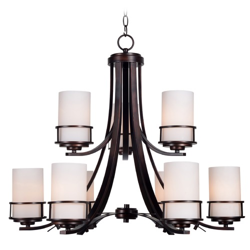 Kenroy Home Lighting Kenroy Home Theo Polished Copper Chandelier 93589COP