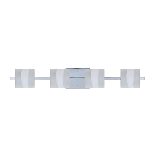 Besa Lighting Besa Lighting Paolo Chrome LED Bathroom Light 4WS-787399-LED-CR