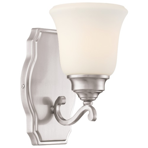 Minka Lavery Minka Savannah Row Brushed Nickel Sconce 3321-84
