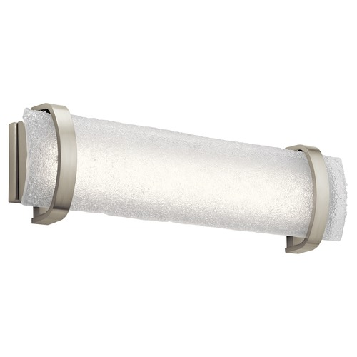 Elan Lighting Elan Lighting Adara Brushed Nickel LED Bathroom Light 83878