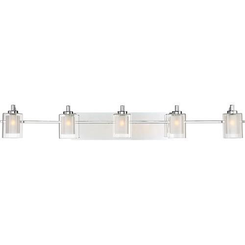 Quoizel Lighting Quoizel Lighting Kolt Polished Chrome LED Bathroom Light KLT8605CLED