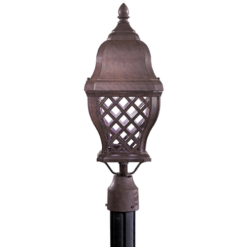 Minka Lighting Post Light in Antique Bronze Finish 8016-91-PL