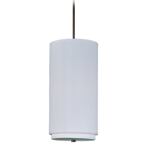 ET2 Lighting Modern Mini-Pendant Light with White Shade E95144-100OI