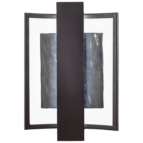 George Kovacs Lighting George Kovacs Sidelight Dorian Bronze LED Outdoor Wall Light P1206-615B-L