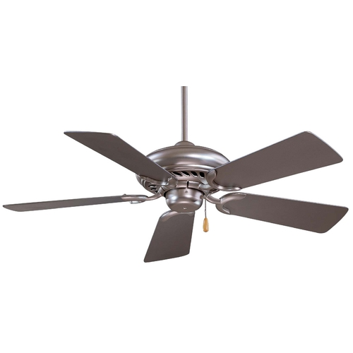 Minka Aire 44-Inch Ceiling Fan with Five Blades F563-BS