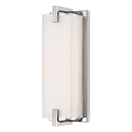 Cubism Bath Bar By George Kovacs: Cubism Chrome LED Bathroom Light - Vertical Or Horizontal Mounting