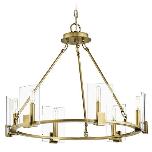 Kichler Lighting Kichler Lighting Signata Natural Brass Chandelier 43701NBR