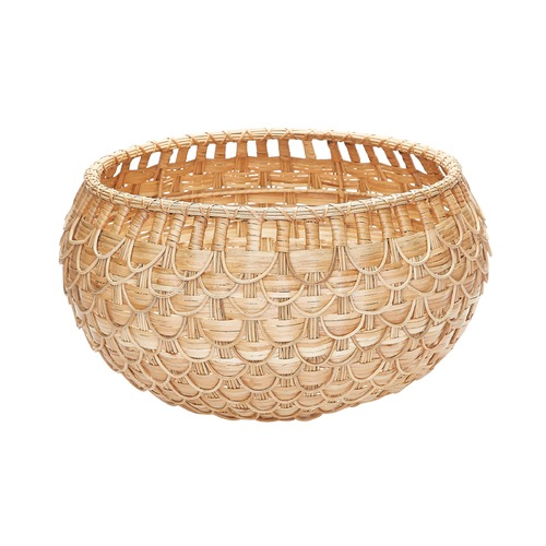 Dimond Lighting Medium Natural Fish Scale Basket 466046