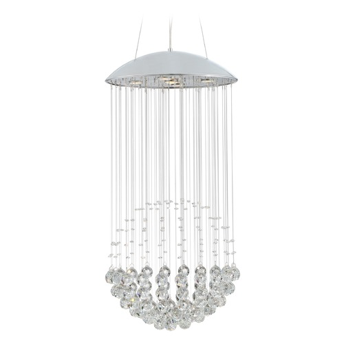 Quoizel Lighting Quoizel Platinum Collection Galaxy Polished Chrome Pendant Light PCGX1817C