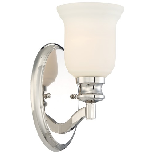 Minka Lavery Minka Audrey's Point Polished Nickel Sconce 3291-613