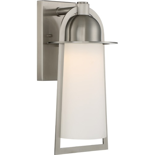 Quoizel Lighting Quoizel Lighting Malibu Stainless Steel LED Outdoor Wall Light MBU8408SS
