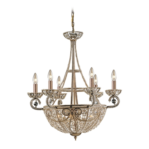 Elk Lighting Chandelier in Dark Bronze Finish 5967/6+4