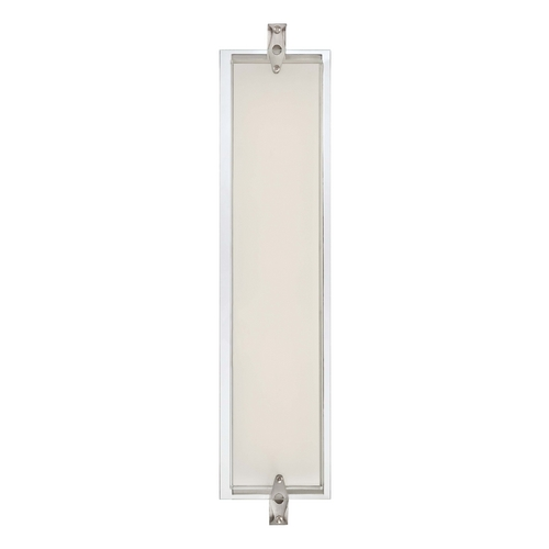 George Kovacs Lighting Cuff Link Brushed Nickel LED Bathroom Light - Vertical or Horizontal Mounting P1123-084-L
