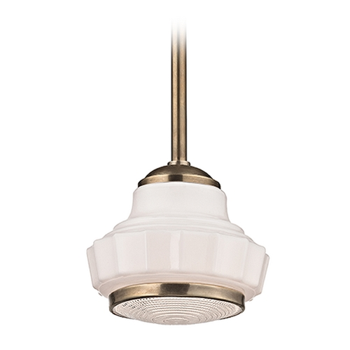 Hudson Valley Lighting Hudson Valley Lighting Odessa Aged Brass Pendant Light 3816-AGB