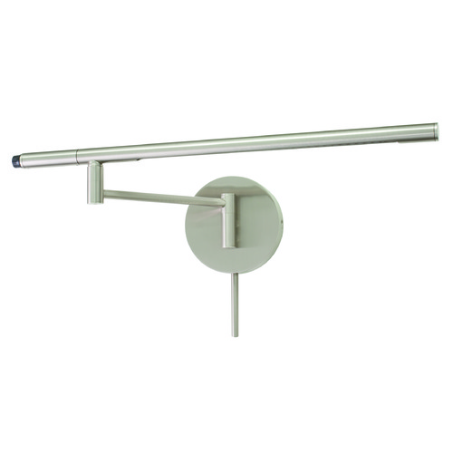 House of Troy Lighting House Of Troy Slim-Line Satin Nickel LED Swing Arm Lamp SLED525-SN