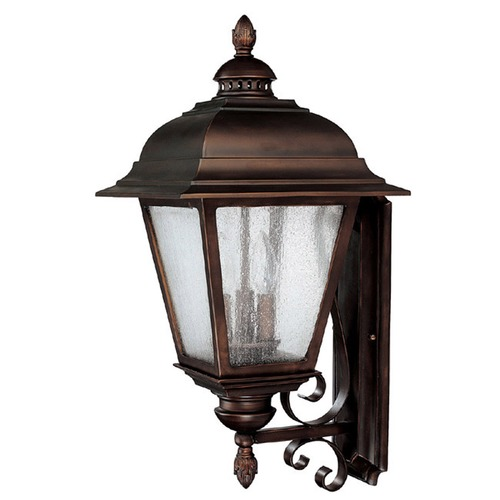 Capital Lighting Capital Lighting Brookwood Burnished Bronze Outdoor Wall Light 9963BB