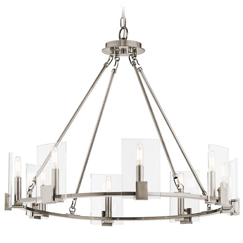 Kichler Lighting Kichler Lighting Signata Classic Pewter Chandelier 43702CLP