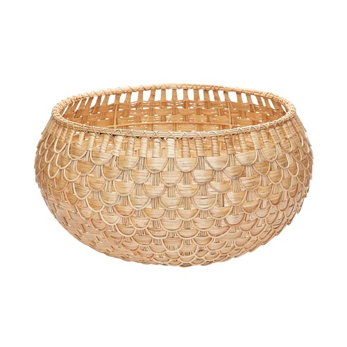 Dimond Lighting Large Natural Fish Scale Basket 466047