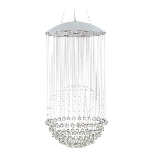 Quoizel Lighting Quoizel Platinum Collection Galaxy Polished Chrome Pendant Light PCGX1826C