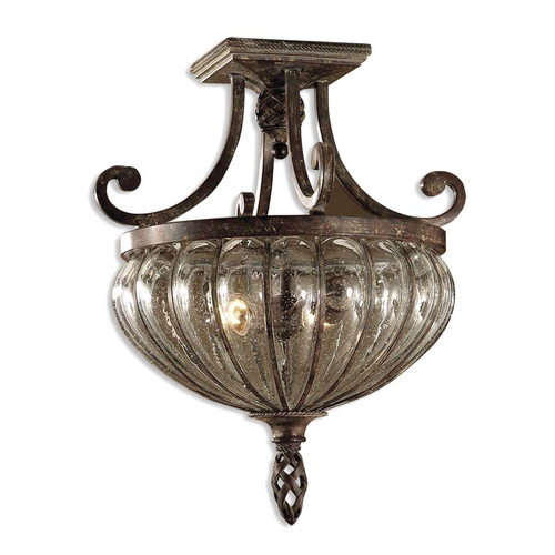 Uttermost Lighting Galeana Semi-Flushmount Light 22208