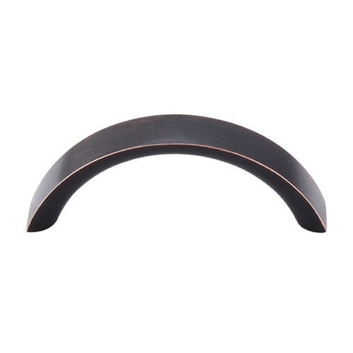 Top Knobs Hardware Modern Cabinet Pull in Tuscan Bronze Finish M1734