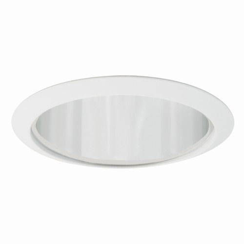 Elite Lighting Elite Lighting Clear Reflector/white Trim Recessed Trim ELILB721CLWH