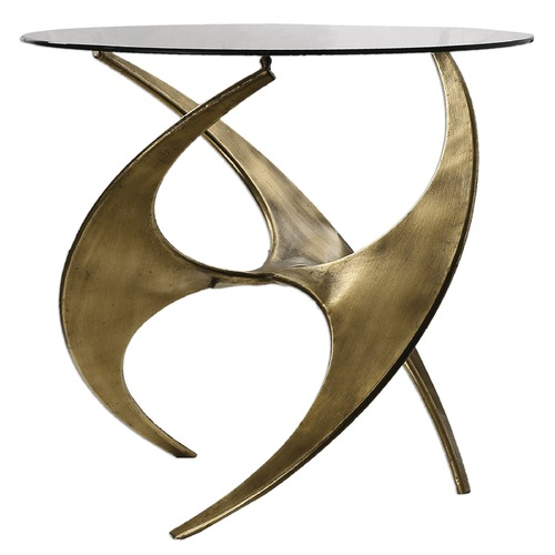 Uttermost Lighting Uttermost Antique Gold Accent Table 24516