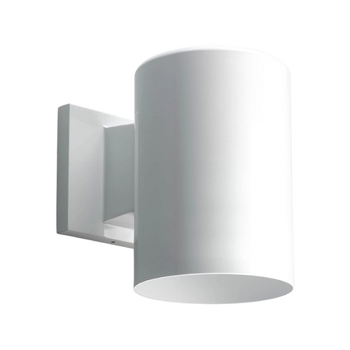 Progress Lighting Progress Lighting Cylinder White Outdoor Wall Light P5674-30