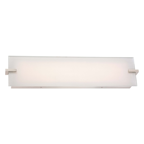 George Kovacs Lighting Hooked Polished Nickel LED Bathroom Light - Vertical or Horizontal Mounting P1113-613-L