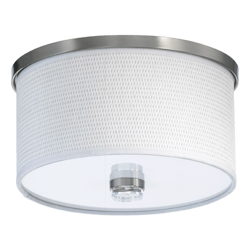 Quorum Lighting Quorum Lighting Copeland Satin Nickel Flushmount Light 659-11-65