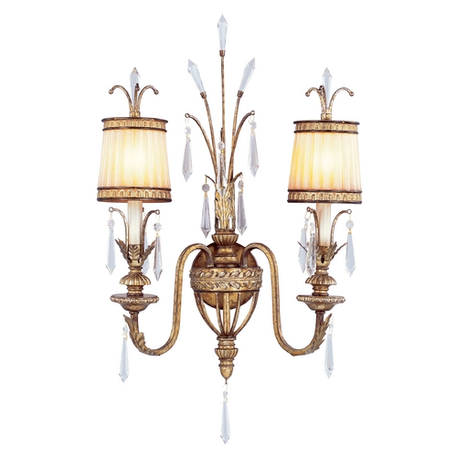 Livex Lighting Livex Lighting La Bella Vintage Gold Leaf Sconce 8802-65