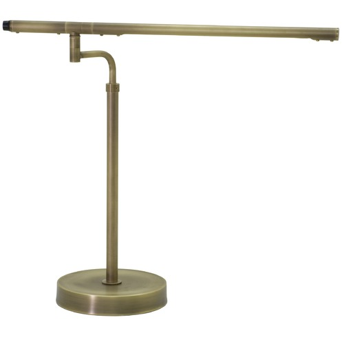 House of Troy Lighting House Of Troy Slim-Line Antique Brass LED Desk Lamp SLED550-AB