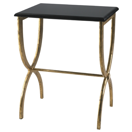 Cyan Design Cyan Design Hourglass Antique Gold & Black Table 01319