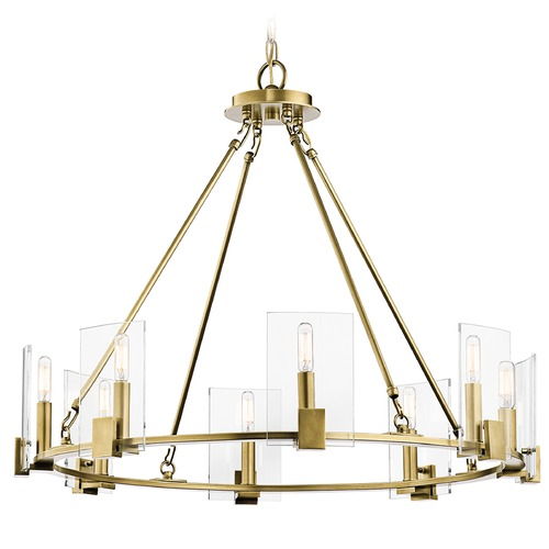 Kichler Lighting Kichler Lighting Signata Natural Brass Chandelier 43702NBR