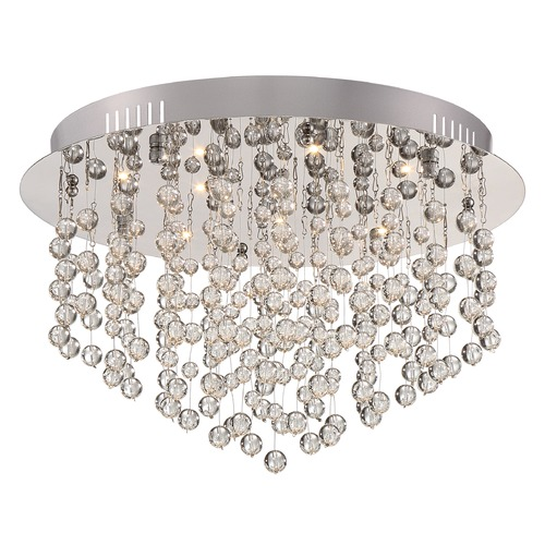 Quoizel Lighting Quoizel Platinum Collection Highrise Polished Chrome LED Flushmount Light PCHE1616C