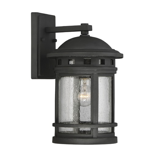 Savoy House Savoy House Lighting Upton Black Outdoor Wall Light 5-361-BK