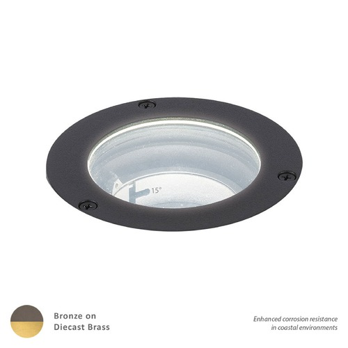 WAC Lighting LED 3-Inch 12V Inground Well Light 5031-27BBR