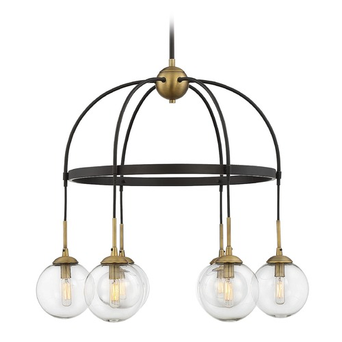 Savoy House Savoy House Lighting Fulton English Bronze & Warm Brass Chandelier 1-5002-6-79