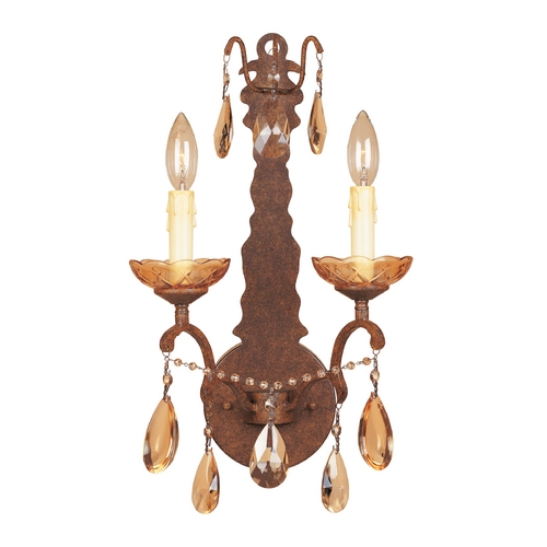 Designers Fountain Lighting Sconce Wall Light in Venetian Bronze Finish 98302-VBR