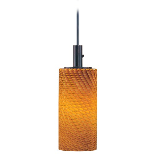 ET2 Lighting Carte LED Bronze LED Mini-Pendant Light with Cylindrical Shade E94211-14BZ