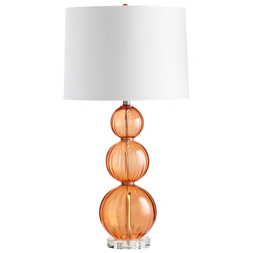 Cyan Design Cyan Design Beale Orange Table Lamp with Drum Shade 05571