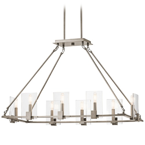 Kichler Lighting Kichler Lighting Signata Classic Pewter Chandelier 43703CLP