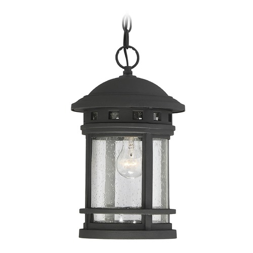 Savoy House Savoy House Lighting Upton Black Outdoor Hanging Light 5-362-BK
