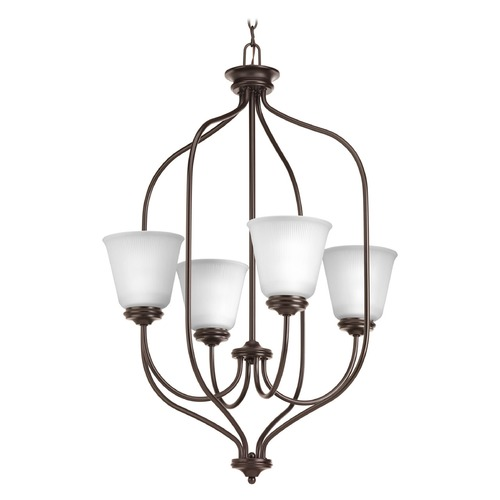 Progress Lighting Progress Lighting Keats Antique Bronze Pendant Light with Bell Shade P3891-20