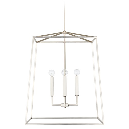 Capital Lighting Capital Lighting Thea 4-Light Polished Nickel Pendant Light 537643PN